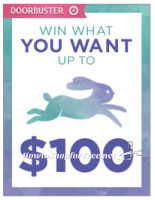 """SYWR """"Easter Win What You Want ~Up to $100"""" FREE $3 Doorbuster!"""