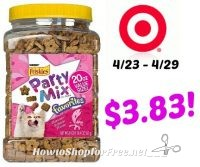 Purina Friskies Party Mix Only $3.83 at Target! 4/23 – 4/29