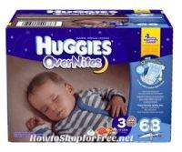 Free Sample of Huggies OverNites Diapers