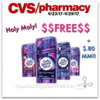 $$FREE$$ Speed Stick Deoderant + $.80 MM at CVS (4/23/17-4/29/17)