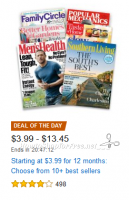 Magazine Best Sellers, as low as $3.99/Year! ~Amazon DotD