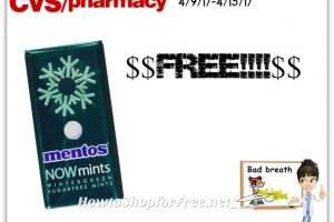 Whoa Baby!! Free Mentos Now Mints at CVS (4/9/17-4/15/17)