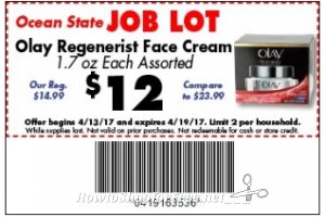 $10 Olay Regenerist Cream at Job Lot ~Ooh La La!!