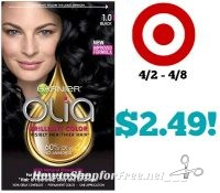 Garnier Olia Hair Color Only $2.49 at Target! 4/2 – 4/8