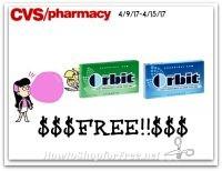 WHOA Free Orbit Gum At CVS (4/9/17-4/15/17)
