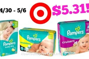 Pampers Jumbo Packs Only $5.31 Plus FREE Baby Wash at Target! 4/30 – 5/6