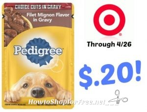 Pedigree coupons  off