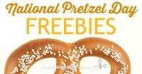 Free Pretzels During National Pretzel Day