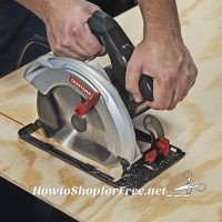 Craftsman Circular Saw UNDER $20 after 50% Back in SYWR!