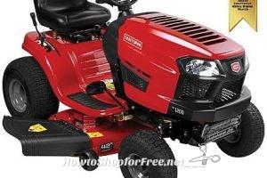 Save $475 on a Craftsman 42″ Auto Riding Mower (420cc)