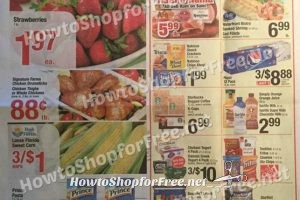 Shaw's Early Ad Scan 4/28 – 5/4