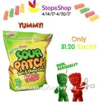 YUMM! Sour Patch Kids Only $1.20 at Stop & Shop (4/14/17-4/20/17)