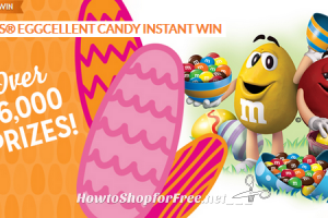 """Enter the """"MARS® Eggcellent Candy Instant Win"""" SYW Sweeps!!"""