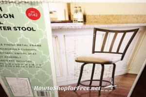 24″ Counter Stool (was/$30) ONLY $8.98 at Target!!