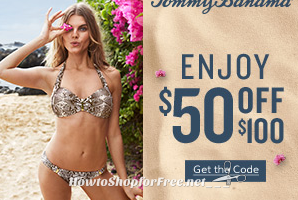 $50 OFF $100 Tommy Bahama Coupon ~Start Your Summer Shopping!