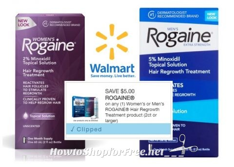 graphic relating to Rogaine Printable Coupon identify Rogaine Offers @ WM How in the direction of Retail outlet For Absolutely free with Kathy Spencer