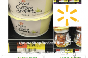 Yoplait Custard & Dippers under a buck at Walmart!