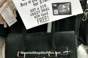 Grab a New Handbag UNDER $5 with #OSJL Crazy Deal!