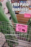 FREE Patio Umbrella at Ocean State Job Lot! ~Crazy Deal