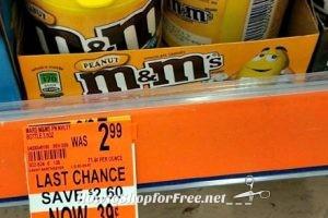 FREE M&M's at Walgreen's!!!!