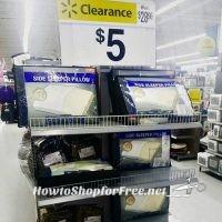 Side Sleeper Memory Foam Pillow for $5.00!!!