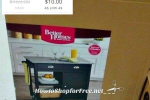 $10 BH&G Kitchen Island!! Major Clearance or Price Glitch?!