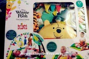 Winnie the Pooh Baby Activity Gym 90% OFF, RUN!!