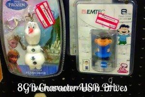 8GB Character USB Drives UNDER $3 at Target!!