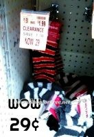 29¢ Fuzzy Socks at Wags!! Everyone Gets a Pair in Their Stocking!!!