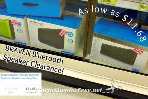 BRAVEN Bluetooth Speakers on Clearance at Target!!