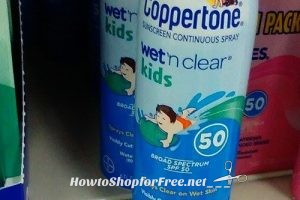 $1.50 Coppertone® Wet'n Clear® Kids with Coupon + Clearance!