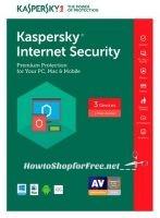FREE Kaspersky Internet Security 2017 (3 PCs) ENDS 5/19!