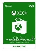 Grab a $50 Xbox GC (Email Delivery) for $45!!