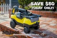 Karcher K3 Follow-Me Electric Power Pressure Washer UNDER $106, Today Only!