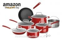 KitchenAid 12pc. Nonstick Cookware Set UNDER $110, Shipped!
