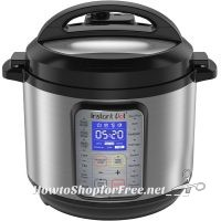 6QT Instant Pot 9-in-1 Multi-Function Pressure Cooker UNDER $100, Shipped!