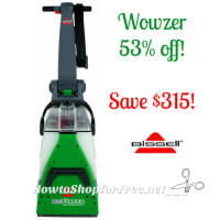 Bissell Big Green Deep Cleaning Pro-Grade Carpet Cleaner, SAVE $315 Today Only!