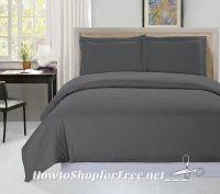 Utopia Bedding 3pc. Duvet & Pillow Sham Set, $18 for Queen or $19 for King ~WOW!