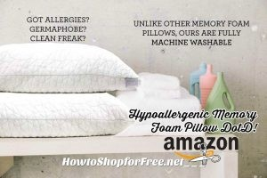 25% off Hypoallergenic Memory Foam Pillows ~Amazon DotD