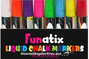 8pk. Liquid Chalk Window Markers 76% OFF on Lightning Deal!