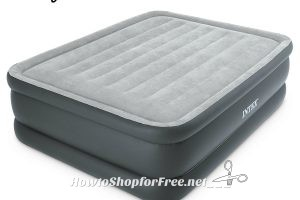 $34.99 Intex Dura-Beam Airbed with Built-In Pump ~Today only, Save $50!