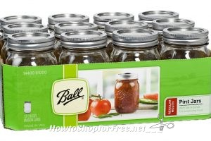 ONLY $7 for Ball Canning Jar 12pk!!