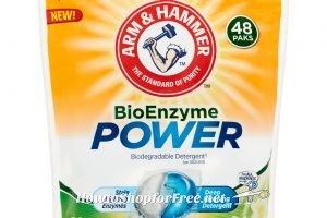 48ct A&H BioEnzyme Power Pods, only .12 per pod!