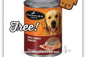 FREE Can of Dog Food at Kmart!! ~Free Friday Fix!