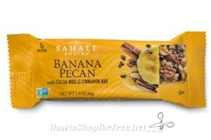 Freeosk ~ Free Sahale Snacks Bars at Walmart!
