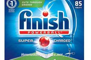 **Amazon Deals** RUN! Finish All In 1 Powerball Dishwasher Detergent 85 Tablets Only $10.09!