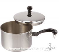 **Amazon Deals** Farberware Stainless Steel 2-Quart Covered Saucepan Only $11.89! (Regularly $50)