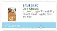 Print Now! New $1.50/1 Purina Small Dog Chow Coupon – NO Size Restrictions!