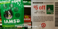 Iams ProActive Minichunks Dry Dog Food as Low as $.09 at Target! 5/14 – 5/20