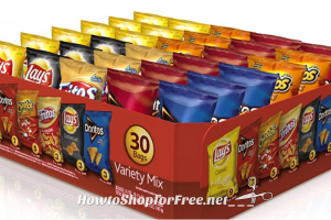 **Amazon Deals** Frito-Lay Chips 30-Count Variety Pack Only $8.07 Shipped (Just 27¢ Per Bag)